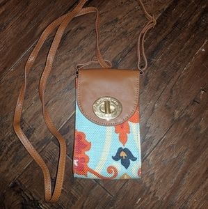 Spartina waving girl small purse
